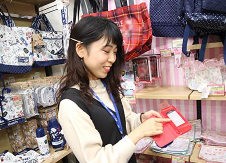 大西衣料で「ラウンダー」に挑戦しませんか?衣類の商品整理・品出し・在庫管理をするお仕事です!